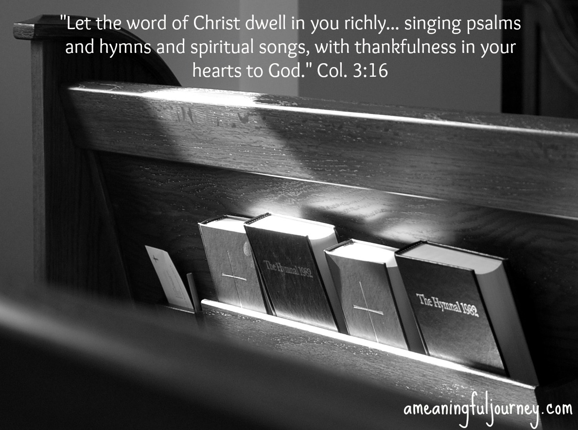 My Life in Hymns