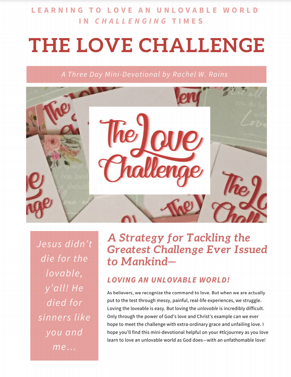 Home of The Love Challenge